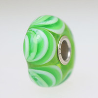 Green Swag Unique Bead