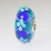 Aqua and Blue Unique Bead
