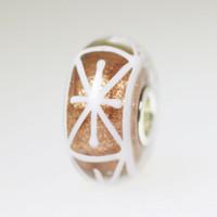 Glitter Star Unique Bead