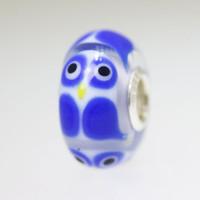 Blue Owl Bead