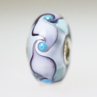 Light  Blue Unique Bead