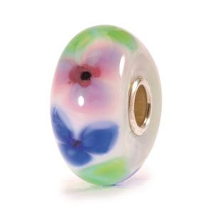French Anemone glass Trollbead