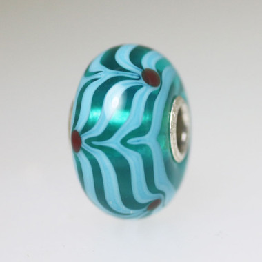 Aqua Large Scale Bead