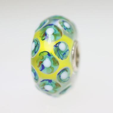 Yellow Dot Bead