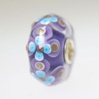 Lavender & Purple Unique Bead