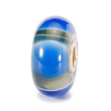 Blue Symmetry Trollbead
