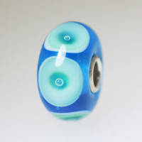 Aqua Bubble Unique Bead