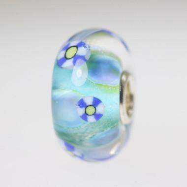 Light Aqua Unique Bead
