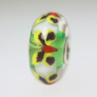 Green Butterfly Bead