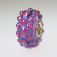 Purple Budded Unique Bead