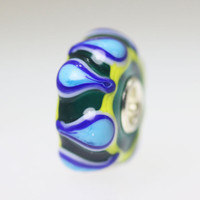 Green & Blue Unique Bead