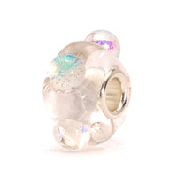 Dicroic Ice Glass Trollbeads