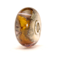 Golden Cave Glass Trollbeads