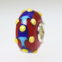 Red Opaque Bead
