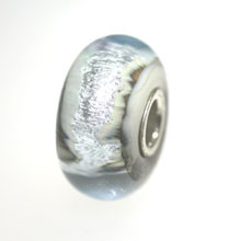 Silver Mountain Glass Trollbeads