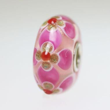 Pink & Glitter Bead