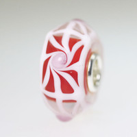 Red & White Bead