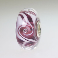 Purple Swirl Bead
