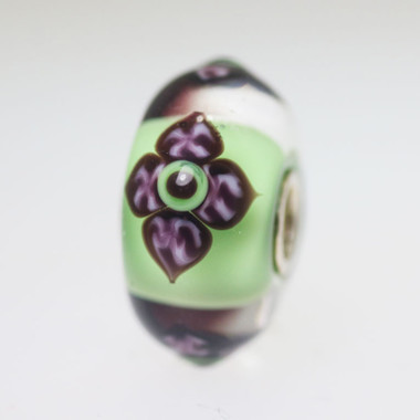 Light Green Flower Bead