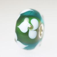 Green & White Bead