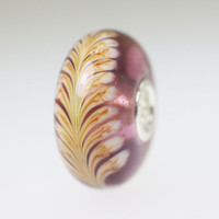 Purple Feather bead