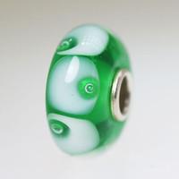 Green Bubble Bead