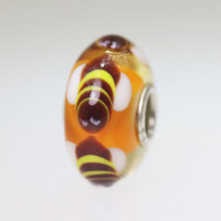 Orange Bee Bead