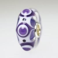 Deep Purple Blue Bead