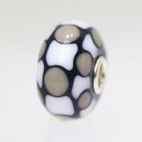 Grey, Black & White Bead