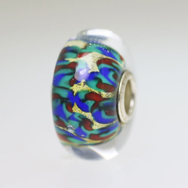 Abstract Multi Tone Bead