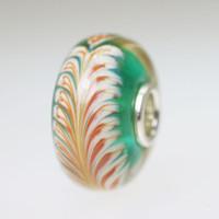 Aqua Feather bead