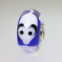 Blue Mouse Bead