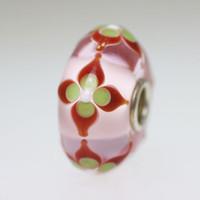 Pink Flower Bead