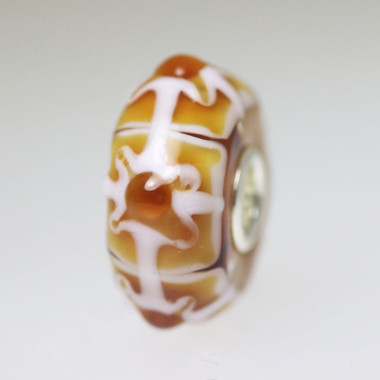 Caramel Toned Unique Bead