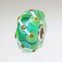 Aqua Green Unique Bead