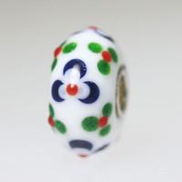 White Opaque Bead