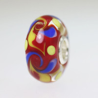 Red Unique Bead