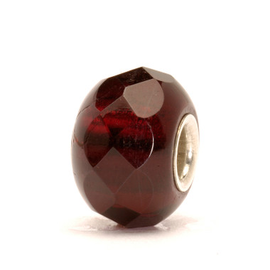 Red prism glass Trollbeads