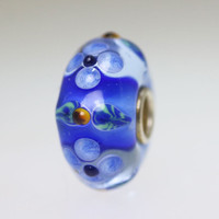 Blue Unique Bead