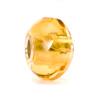 Yellow Prism Glass Trollbeads