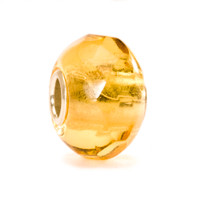 Yellow Prism Glass Trollbeads