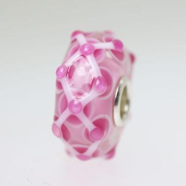 Pink Unique Bead