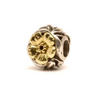 Flowers Bead, Gold & Silver