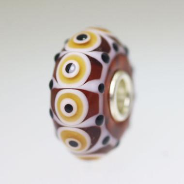 Brown & Black bead