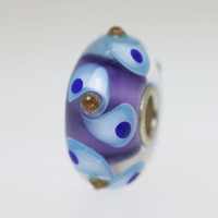 Purple & Blue Unique Bead