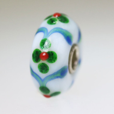 White Flower Bead