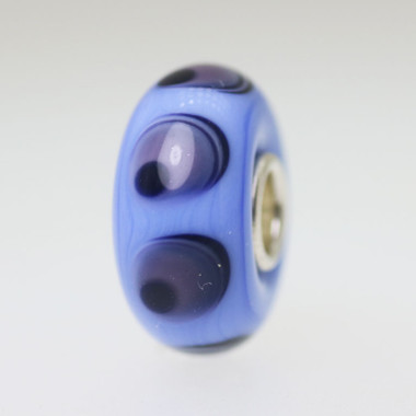 Blue Opaque Unique Bead