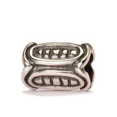 Viking bead Sterling Silver Retired Trollbeads