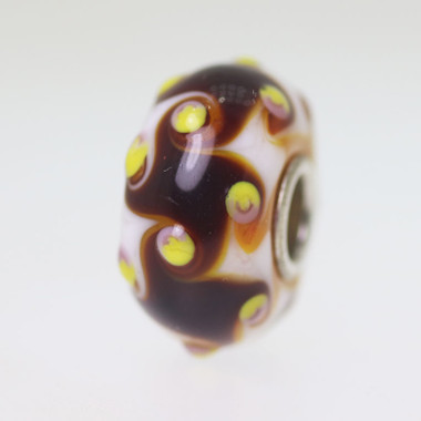 Brown Harlequin Bead
