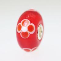 Red Flower Bead